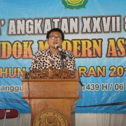 menantu M. Busyro Muqoddas adalah alumni pondok modern assalaam temanggung