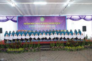 alumni putri angkatan ke 28 pondok modern assalaam