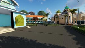 rencana pembangunan gedung masjid ponpes assalaam temanggung