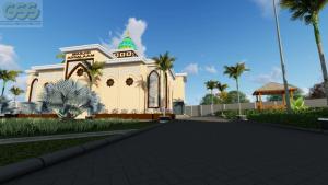 masjid pondok modern assalaam temanggung tampak depan